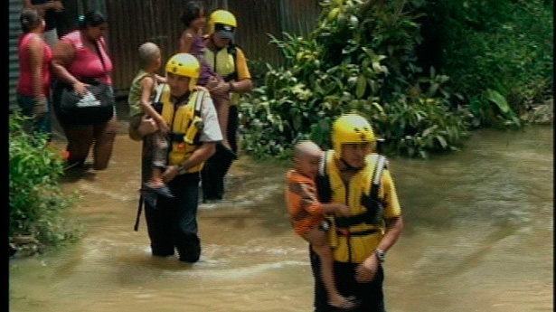 30 Hours of Cloudbursts Flood Santa Cruz
