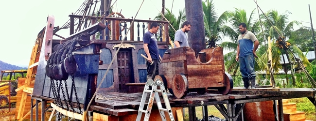 Bacon Films George Clooney in Mexico and Pirates in Costa Rica