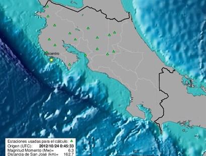6.6-magnitude earthquake strikes Costa Rica's Pacific coast