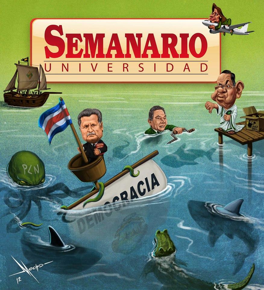 Politica Humour From The  Seminario Universidad