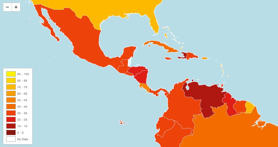 Costa Rica Scores More or Less On Corruption Index
