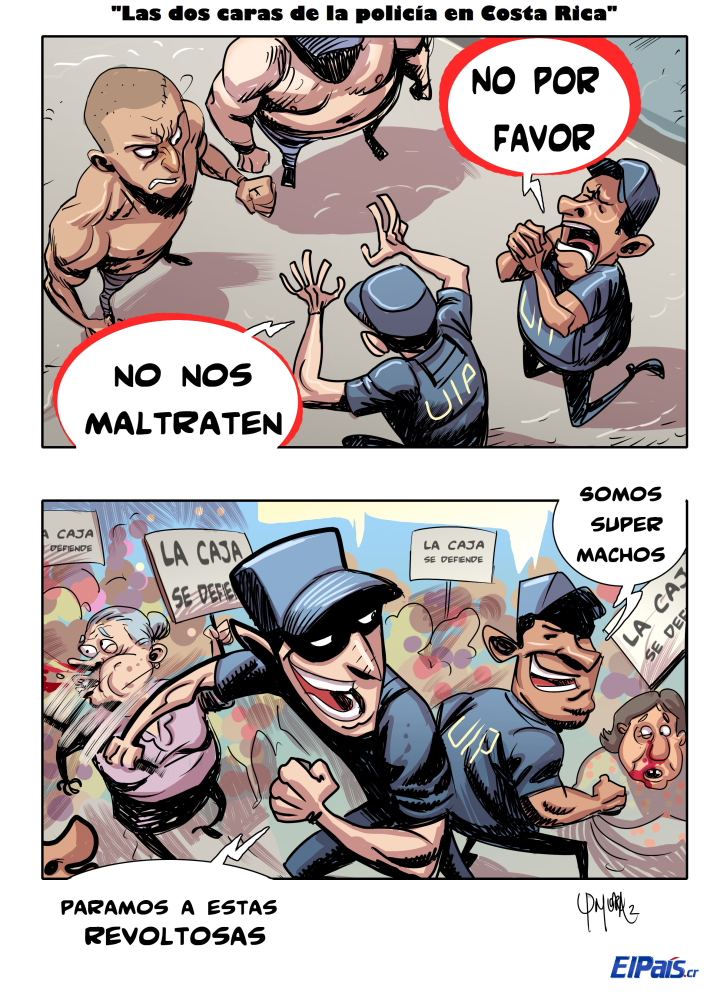The Two Sides of Costa Rica's Police