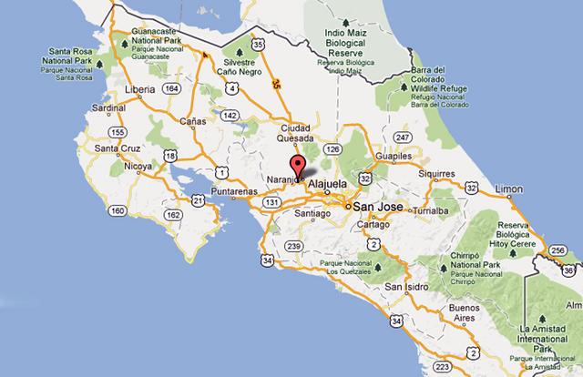 4.9 Quakes Rocks Costa Rica