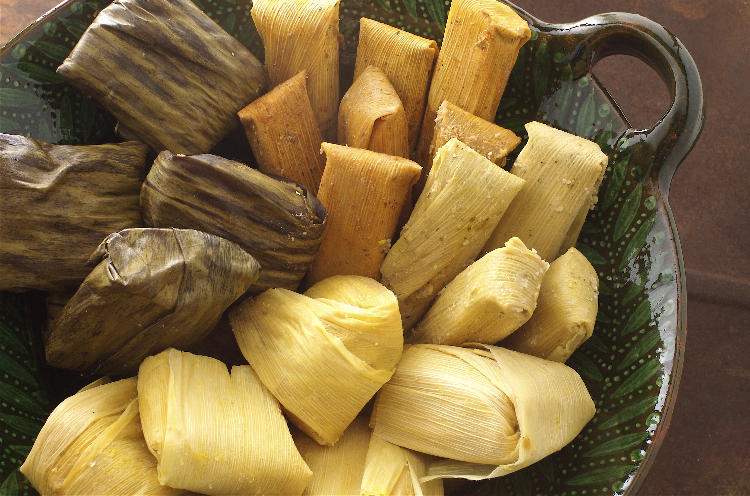 Tamales, Tamales and more Tamales during the holiday season in Costa Rica