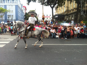 The Tope is a tradition in San José during the holiday season.