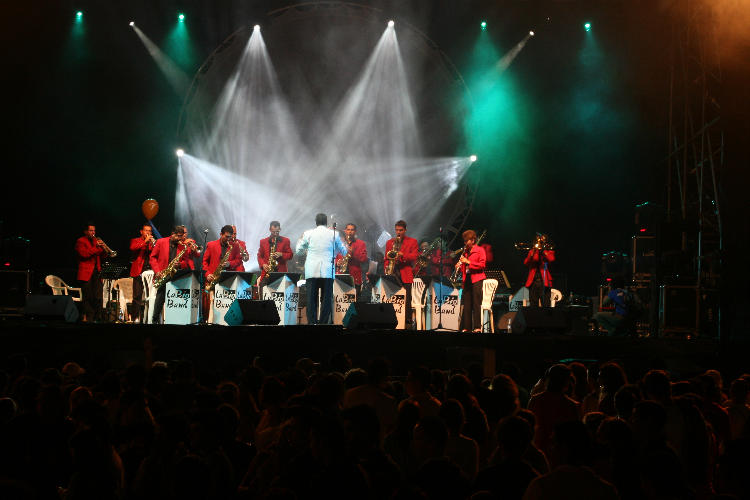 The Big Band. Photo: Teatro Nacional