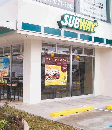 Subway Costa Rica Expansion Underway
