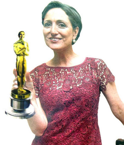 And The Oscar Goes To…Suzanne Fischel!