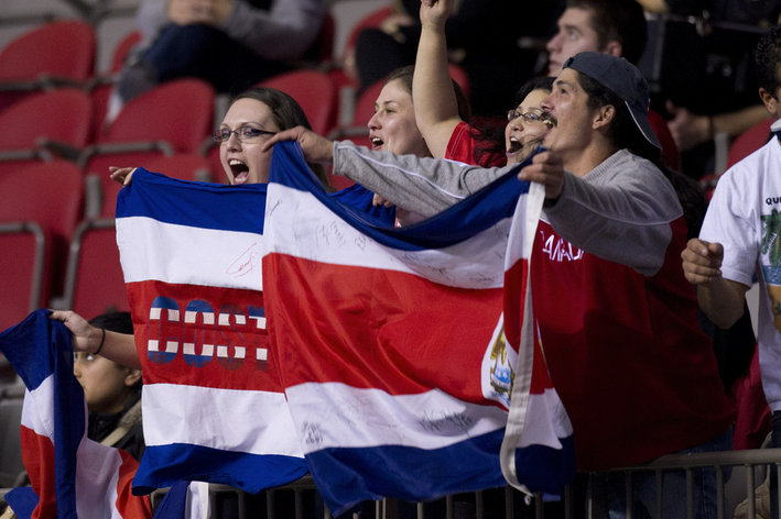 2012 CONCACAF Women's Olympic Qualifying - Haiti v Costa Rica