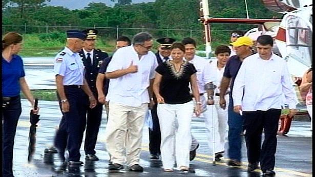 Chinchilla In Venezuela For Chavez Funeral