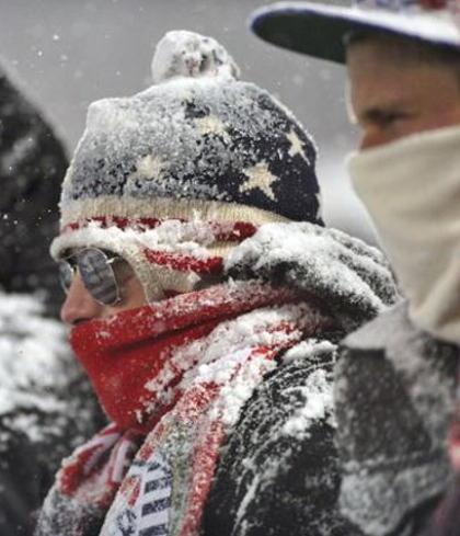 Snow Job: US vs Costa Rica Game in Photos