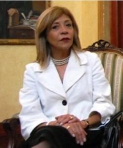 Venezuela's ambassador to Costa Rica, Aura Mahuampi Rodríguez de Ortiz