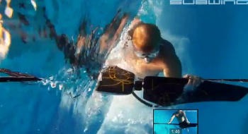 Experience the sensation of flying underwater