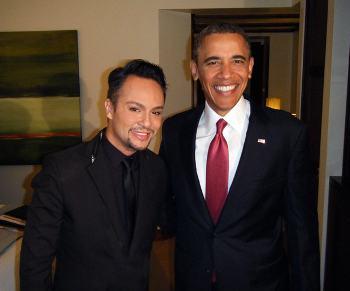A Close Encounter of the Obama Kind