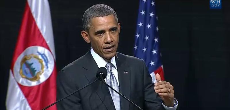 "[VIDEO] ""Pura Vida, Muchas Gracias"", Obama Shows Off His Spanish!"