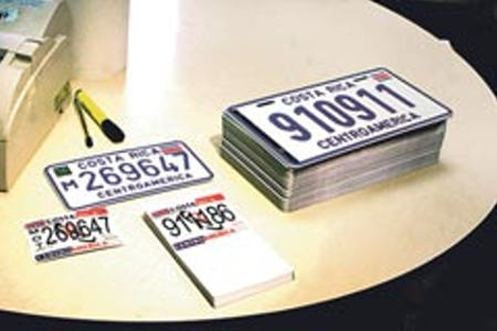 License Plate Changeover Begins Monday