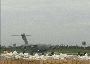 US drug plane. Photo CRHoy,com