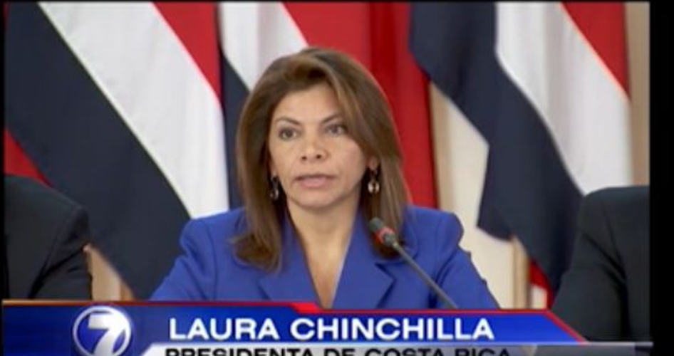 [Video] Chinchilla Press Conference on US Spying on Costa Rica