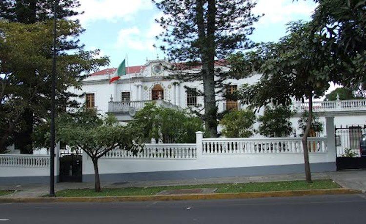 Mexico embassy in San José, Costa Rica