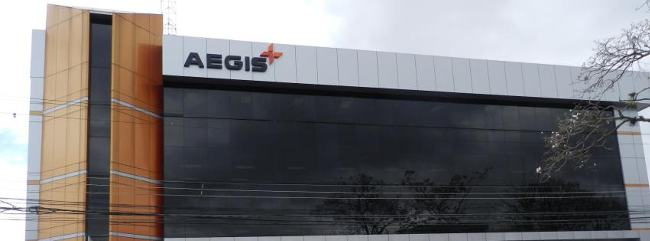 The Aegis main office in Costa Rica is located two blocks east of Plaza Mayor in Rohrmoser.