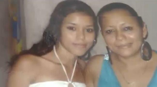 Angie Obando (left) was murdered by her ex-husband.