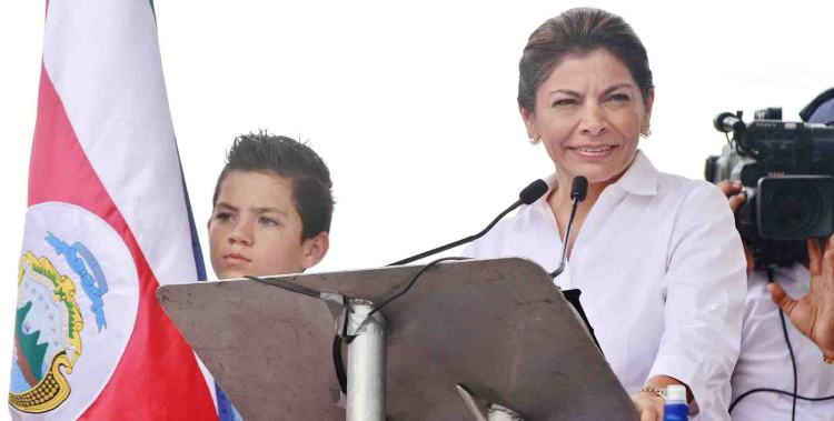 """""""We Are All Guanacaste and They Will Never Separate Us"""", Presidenta Laura Chinchilla"""