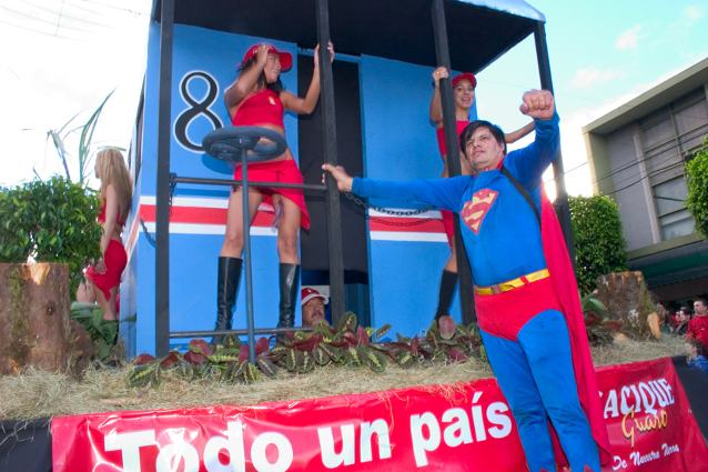 """""""Up, up and away,"""" says Superman, Costa Rica and Q"""