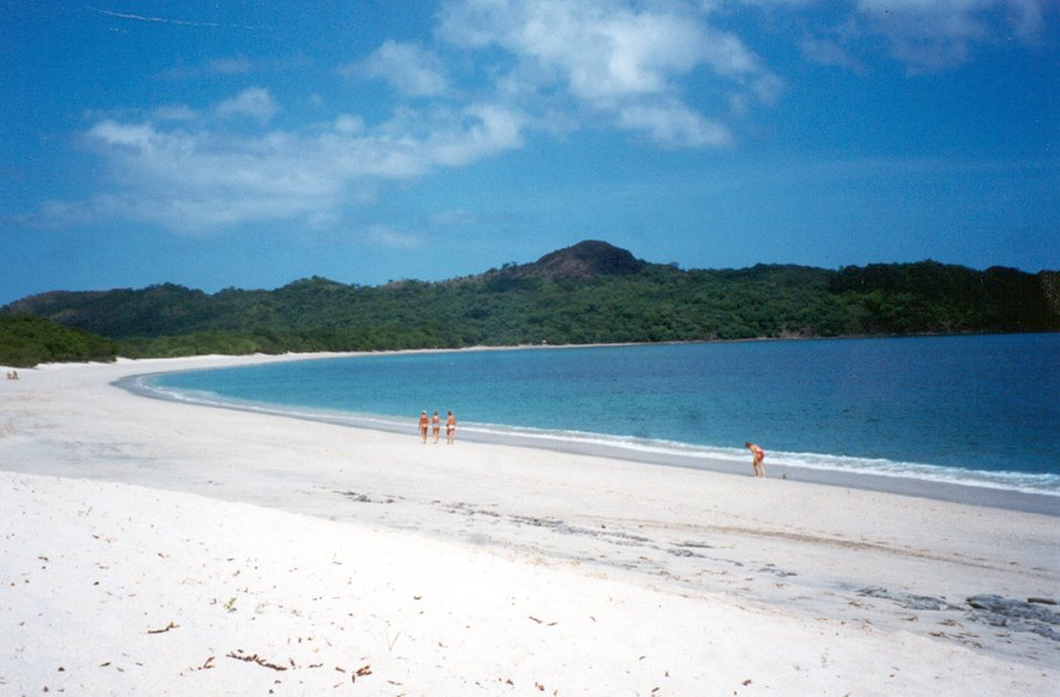 The White Sand Beach of  Conchal