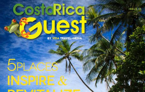 Vida Travel Media Launches Costa Rica Guest Magazine