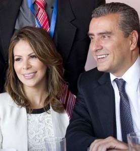 ML Otto Guevara and his girlfriend,  Ileana Alfaro.