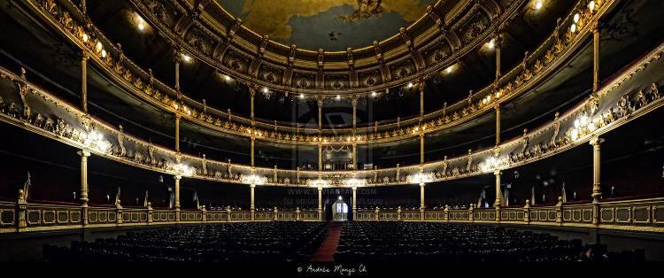 Interior of Teatro Nacional, San José, Costa Rica