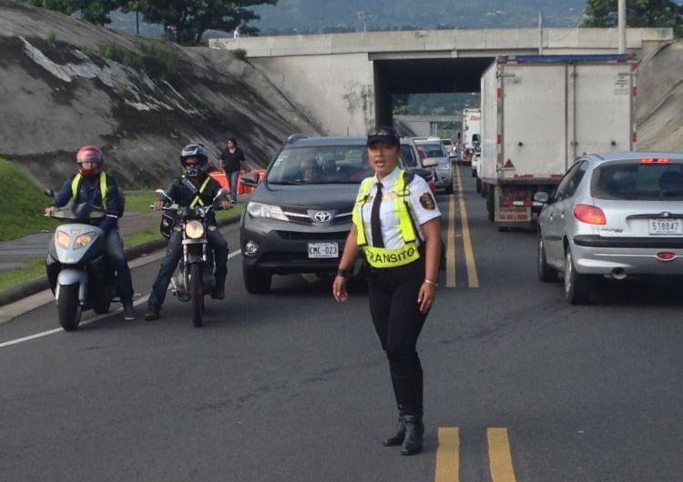 """Traffic official Marcela Segura does like the """"piropos"""", says they are insulting."""