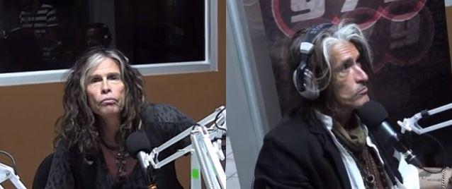 AEROSMITH's Steven Tyler and Joe Perry were interviewed on the 97.9 FM radio station in San José, Costa Rica Read more at http://www.blabbermouth.net/news/aerosmiths-tyler-perry-interviewed-on-costa-ricas-97-9-fm-video/#G90UZ0ZWHbuMXwkB.99