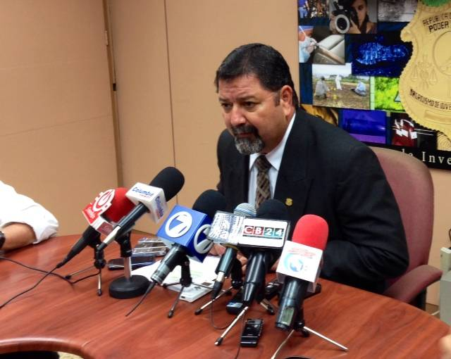 Gustavo Mata, deputy director of the OIJ, in a press conference Thursday afternoon.