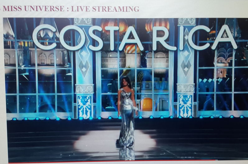 Fabiana Granados Is Applauded For Her Silver Gown at Miss Universe