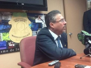 Francisco Segura, head of the Organismo de Investigacion Judicial (OIJ)