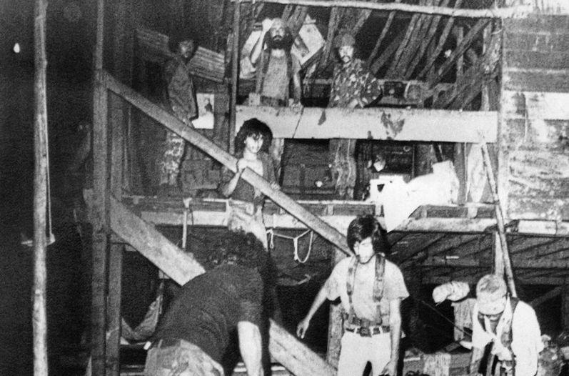 La Penca 1984 bombing. Photo: La Nacion archives