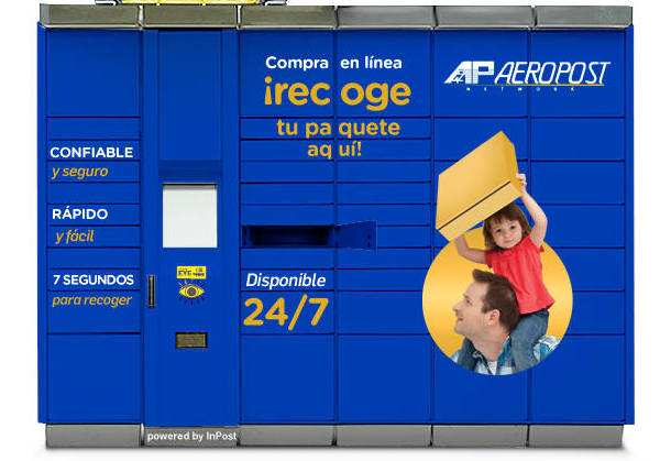 Aerocasillas to install parcel lockers across Central America and the Caribbean