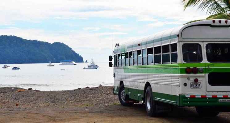 Bus The Most Economic Way To Travel To Costa Rica's Beaches For the Holidays