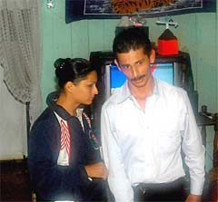 The main suspect in the Josebeth murder, Alexander Salamanca (seen in the photo with his sister) is still free today.
