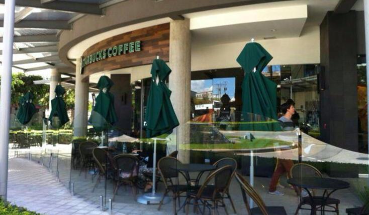 Starbucks opened it first store in Costa Rica in Avenida Escazú in May 2012