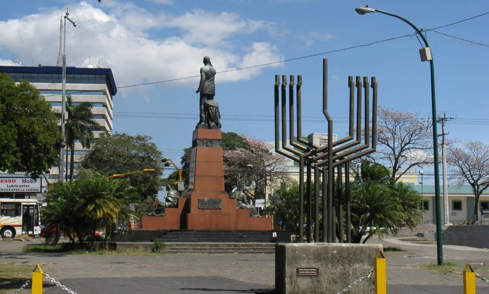 """Zach, in hi myopic view of San Jose as """"just a foul city filled with  Catholics"""", missed the menorah that sit proudly at the east side entrance of the La Sabana park."""