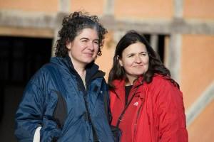 Ana Elisa Leiderman and Verónica Botero. (Photo by Bea Leiderman)