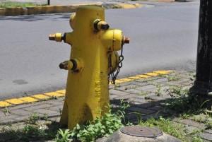 Costa Rica fire hydrant.
