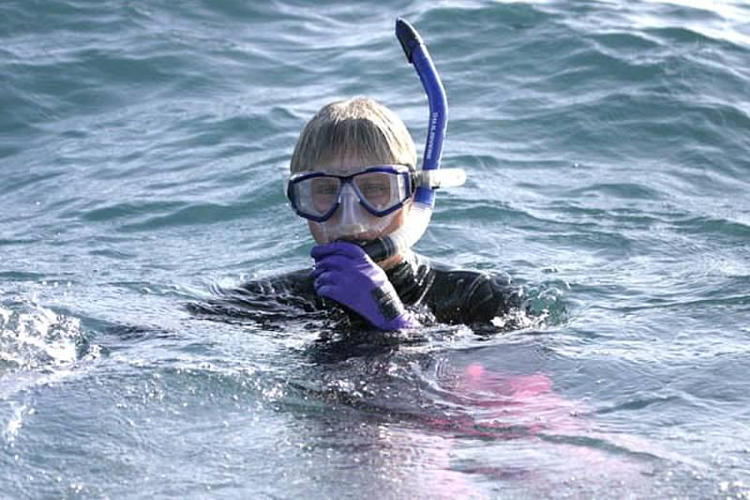 Costa Rica Mermaid Swims Pacific Coast. For the 7th Time