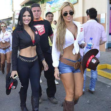 Scantily clad women, horses an beer are a staple at Palmares.