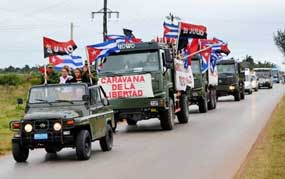 Victory Caravan to Complete Tour in Cuban Capital