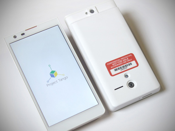 Google Launches Project Tango Smartphone