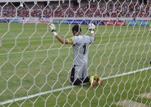 Costa Rica goalie Keylor Navas in this official photo by La Sele