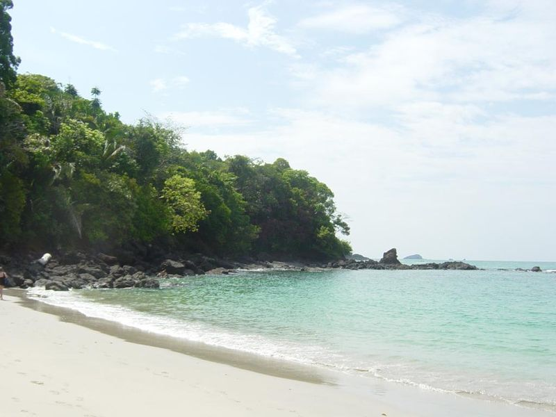 One of the park's beaches